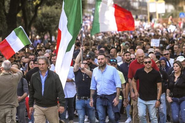 Chi sono gli autori degli scontri di Roma, non solo Forza Nuova