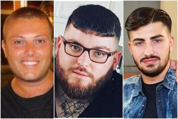 Raffaele Pisa, Antonio Zarra, Carmine D'Onofrio