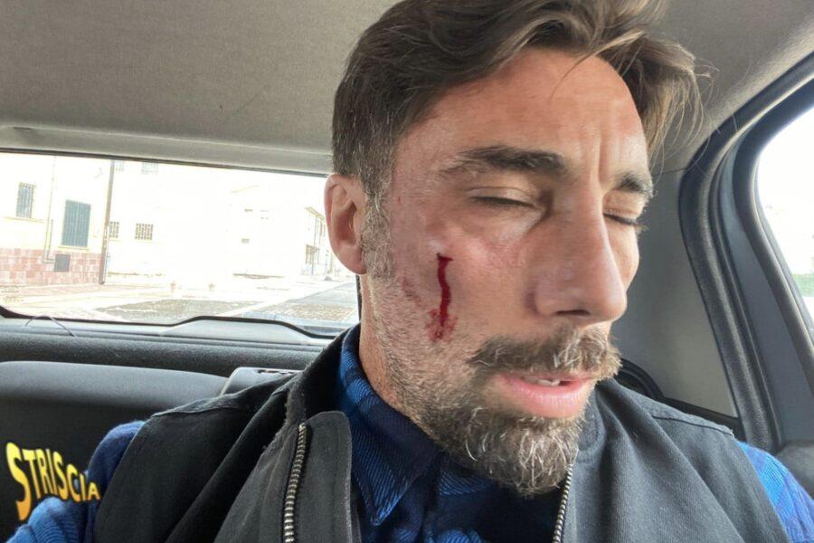 """L'inviato di 'Striscia' Brumotti aggredito a Foggia: """"Portatelo via da qua prima che gli stacchi la testa"""""""
