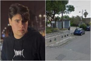 Schianto in scooter contro auto e paletti, Antonio muore a 17 anni: i caschi nel bauletto