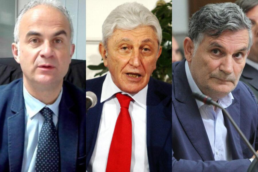 Bassolino, Del Gaudio e Fabozzi: scampati ai pm ma bocciati alle urne