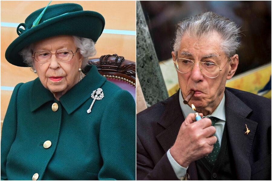 """La Regina Elisabetta scrive a Bossi: """"Grazie per le parole gentili"""""""