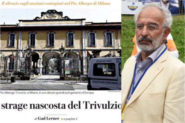 Al Trivulzio nessun reato, i titoli di Gad Lerner su Repubblica 'violentarono' i morti
