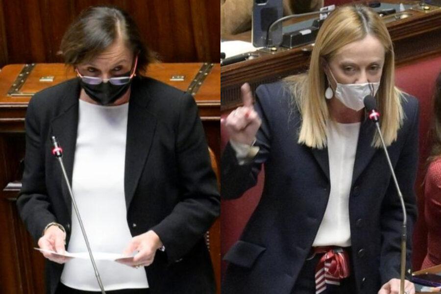"""Assalto alla Cgil, Lamorgese si difende ma la Meloni l'accusa: """"Sei complice"""""""