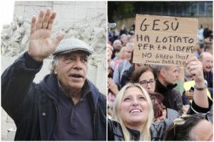 """No Green Pass, Enrico Montesano: """"Dobbiamo capire i fratelli italiani che si sono vaccinati"""""""