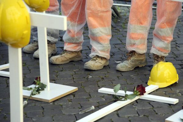 Morti sul lavoro, pene più severe non fermano la scia di sangue