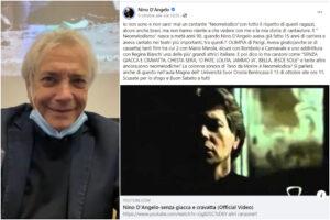 """Nino D'Angelo spegne la polemica con i neomelodici: """"Ci ho messo 20 anni a farmi chiamare 'cantante napoletano'"""""""