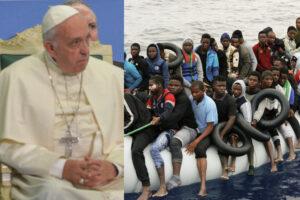 Papa Francesco chiede accoglienza per i migranti, ma nessuno lo ascolta