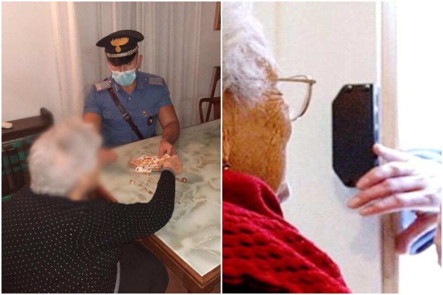 """""""Tuo nipote è nei guai"""" e consegna soldi e gioielli, nonnina truffata scoppia in lacrime all'arrivo dei carabinieri"""