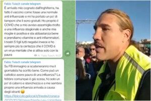 """""""Covid è come un'influenza, colpa degli idranti della polizia"""": il portuale Fabio Tuiach spiega così la positività al virus"""