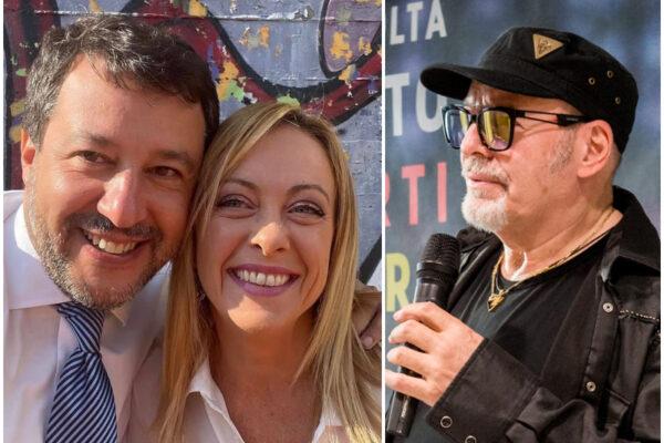 """Vasco Rossi contro Meloni e Salvini: """"Irresponsabili, seminano odio per avere consensi"""""""