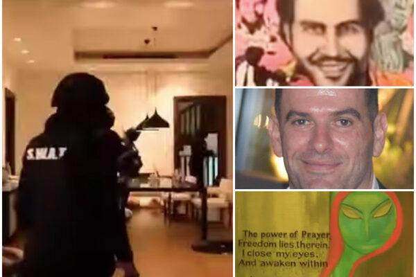 La villa galattica del boss Imperiale a Dubai: anche un quadro di Pablo Escobar e una dedica di Miss Universo